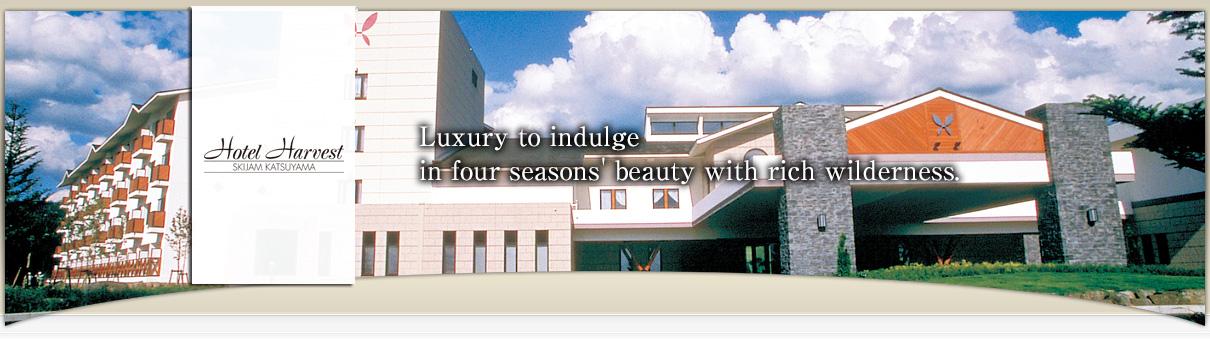 Hotel Harvest Skijam Katsuyama 【official Web Site】hotel